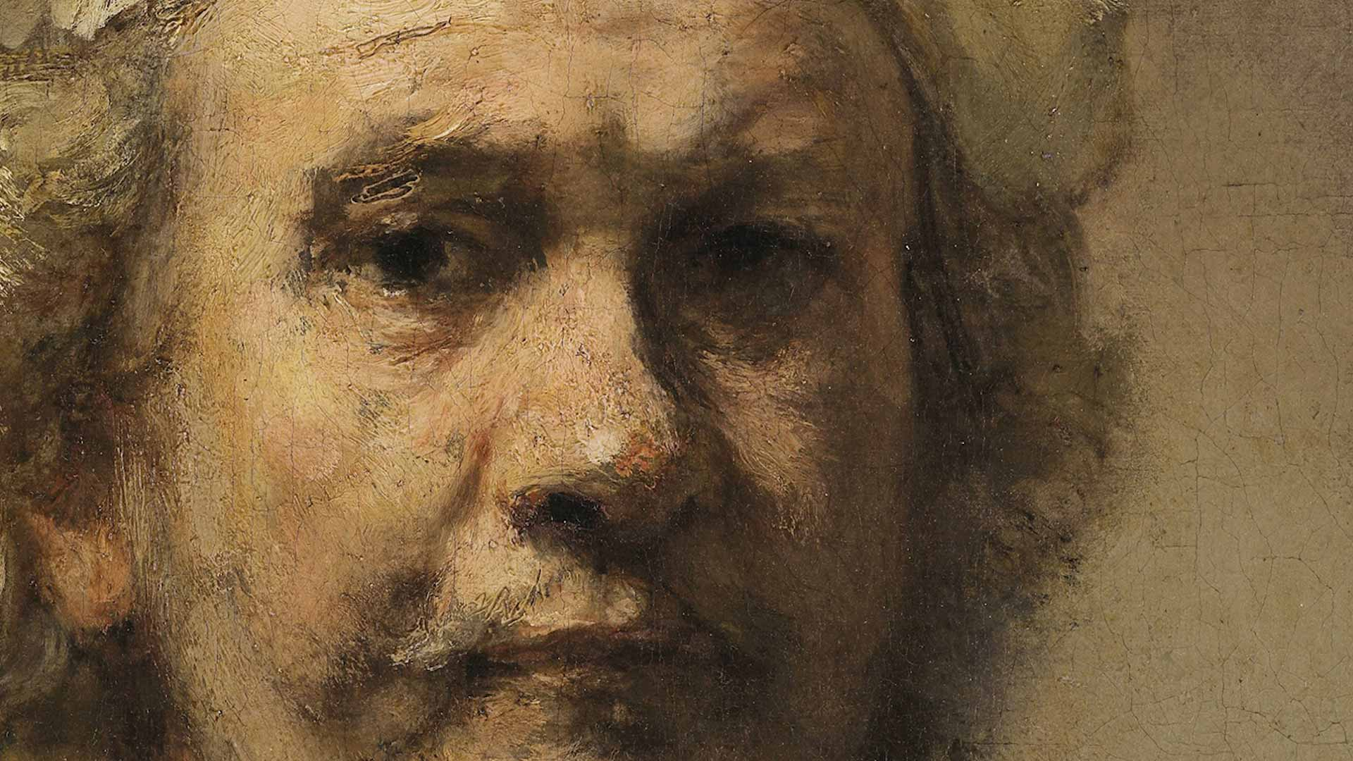 Rembrandt Self-Portrait with Two Circles   English Heritage